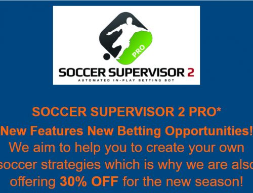 SOCCER SUPERVISOR 2 PRO==> New Features New Betting Opportunities!